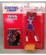 1996 Starting Lineup Superstar Collectible Figure Bucks Vin Baker - $9.75