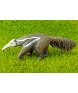 Anteater Figurine Zoo Wild Animal Garden Decor Educational Science Natur... - $10.99