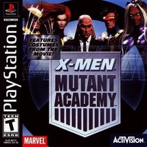 X-Men Mutant Academy PS1 Great Condition Fast Shipping - $6.93