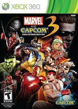 Marvel Vs. Capcom 3 Fate Of Two Worlds Xbox 360 Great Condition Complete - $26.94