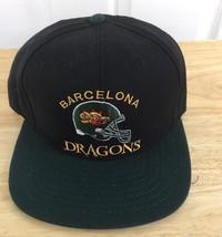 Barcelona Dragons SnapBack Hat Vintage 90's Off... - $70.13