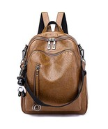 SYKT Backpack Purse for Women Fashion School PU Leather Purses and Hangb... - $20.57