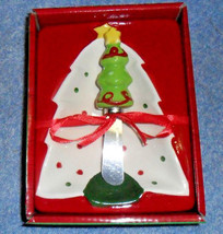 Home for the Holidays Holiday Tree Star Spreader and Dish NEW - $9.90