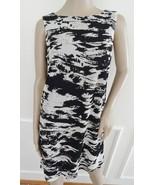 Nwt Isaac Mizrahi New York Cocktail  Novelty Lace Shift Dress Sz 12 Blac... - $69.25