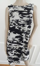 Nwt Isaac Mizrahi New York Cocktail  Novelty Lace Shift Dress Sz 14 Blac... - $69.25