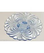 Cambridge Caprice Moonlight Blue Platter Plate ... - $149.95