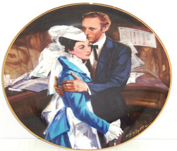 Gone with the Wind Collectors Plate Question Of Honor Bradford Exchange ... - $59.95