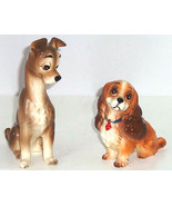 Walt Disney Productions Lady Tramp Figurines Ce... - $99.95