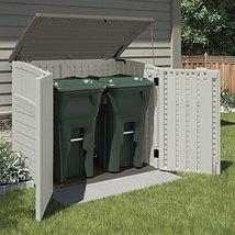 Suncast BMS2500 Horizontal Storage Shed h4550 l3100 w5300 w7600 Lawn & P... - $286.81