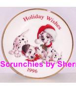 Disney 101 Dalmatians Hallmark Ornament Christmas Mini Plate Holiday Vin... - $29.95