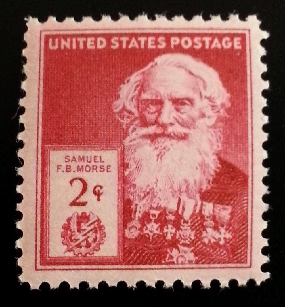 1940 2c Samuel F. B. Morse, American Painter Scott 890 Mint F/VF NH