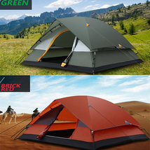 Outdoor Camping Tent 3-4 People Two Layers Stor... - $132.78