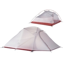 Naturehike Travel Camping Tent 3 Person Double Layer Waterproof Hiking T... - $234.76