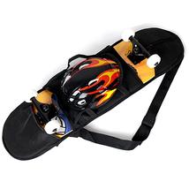 Skateboard Carrying Bag Backpack Straps Rucksac... - $7.18
