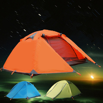 Outdoor Camping Double Layer 2 person Aluminum ... - $144.38