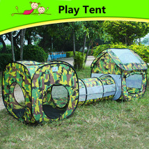 Kids Sports Outdoor Fun Lawn Camping Tent Playh... - $60.28