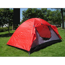 Outdoor Camping Two Layers Fibre Glass Pole Plo... - $91.88
