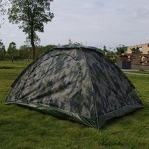 Outdoor Camping Camouflage Hiking  Folding Tent... - $67.53