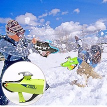 Outdoor kids Toys Snow ball Launcher Winter Sno... - $38.68