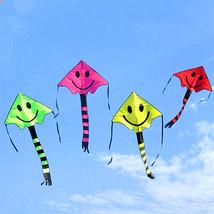 Child Toy Kite Four Color Smile Angel Smiley Ki... - $6.34