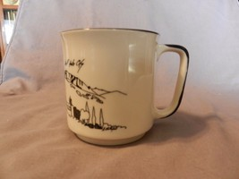 Salt Lake City This Is The Place Monument Ceramic Coffee Cup 1985 from Z... - $15.83