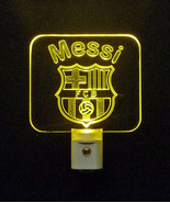 Futbol Club Barcelona Soccer Football Personalized LED Night Light -Gift - $23.50