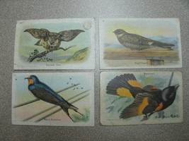 4 Arm & Hammer And Cow Brand Baking Soda Bird Series Trading Cards - $7.99