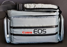 Canon EOS Camera Bag Canvas Vintage Style Great Shape ! - $49.00