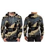 Black Panther wakanda Hoodie Zipper Fullprint Men - $51.99
