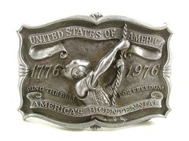 1976 Ring The Bell For Freedom Belt Buckle By Reynolds Metals 22017 - $24.99