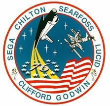 STS-76 Nasa Atlantis Sticker M556 Space Program - $1.45+