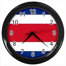 Costa Rica Flag Wall Clock - $18.53