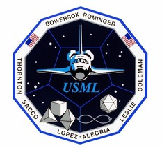 STS-73 Nasa Columbia Sticker M559 Space Program - $1.45+