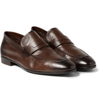 Handmade Mens brown formal shoes, Men Brown dress leather shoes moccasins  - $159.99