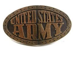 1970's Vietnam War United States Army Delayed Entry Belt Buckle 22017 - $24.99