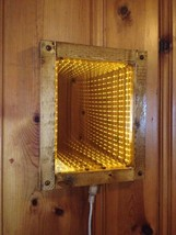Gold LED Infinity Mirror - $169.95
