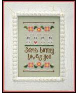 Some Bunny Loves You cross stitch chart Country... - $5.40