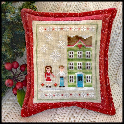 Snow Place Like Home Part 5 cross stitch chart Country Cottage Needleworks