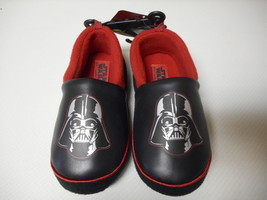 Boys Toddler Disney Darth Vader Star Wars Slippers House Shoes Small 5/6... - $9.89