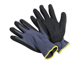 Black Micro Finish Nitrile Palm Coated Glove, Sold by the Dozen - $20.70