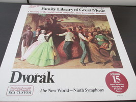 Funk And Wagnall's Family Library Of Great Music Album  Record Album Dvorak - $8.09
