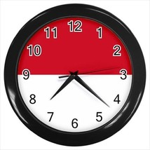 Indonesia Flag Wall Clock - $18.53