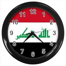 Iraq Flag Wall Clock - £13.92 GBP