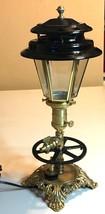 Desk Lamp Vtg Industrial Machine Age Steampunk ... - $117.12