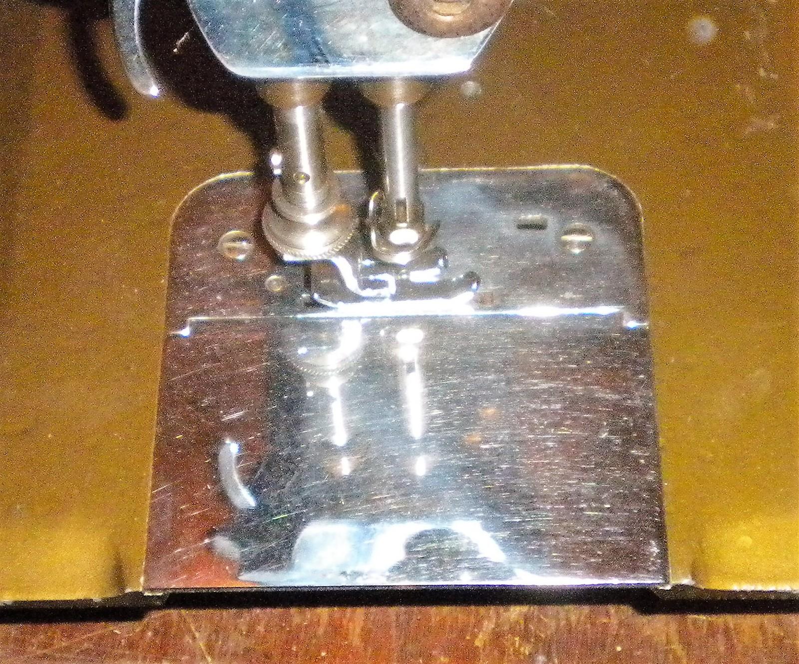 New Home NLB Rotary Hinged Slide Plate w/Needle Plate + Screws image 3