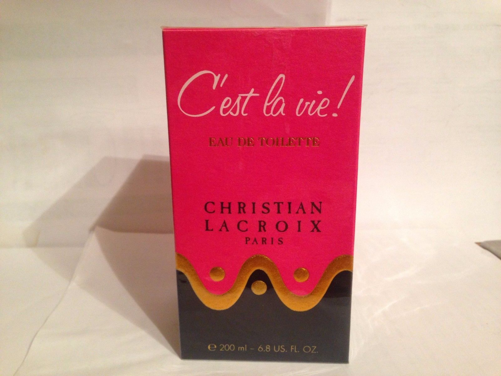 Primary image for RARE CHRISTIAN LACROIX C'EST LA VIE FOR WOMEN 6.8oz/200ml new&sealed