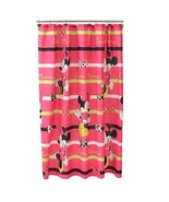 MINNIE MOUSE MICROFIBER SHOWER CURTAIN - $20.00