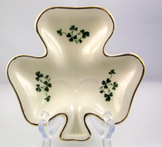 Carrigaline Pottery shamrock shaped dish County... - $10.00