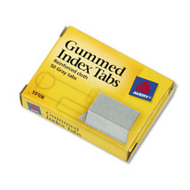 Avery  Gummed Index Tabs, 1w x 13/16h, Gray, 50... - $33.75