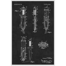 Weapons Patent Print, Survival Knife Set Patent Blueprint , Weapon Photo... - $11.39+